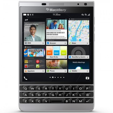 Huse BlackBerry Passport Silver Edition
