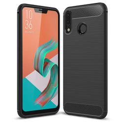 Husa Asus Zenfone 5 2018 ZE620KL TPU Carbon Negru