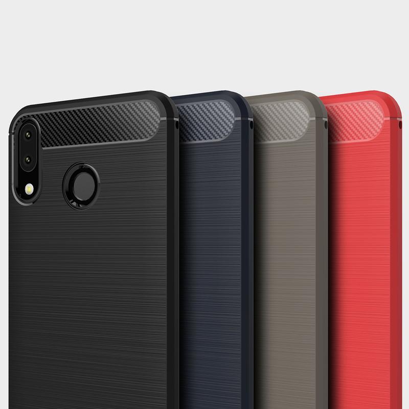 Husa Asus Zenfone 5 2018 ZE620KL TPU Carbon Albastru
