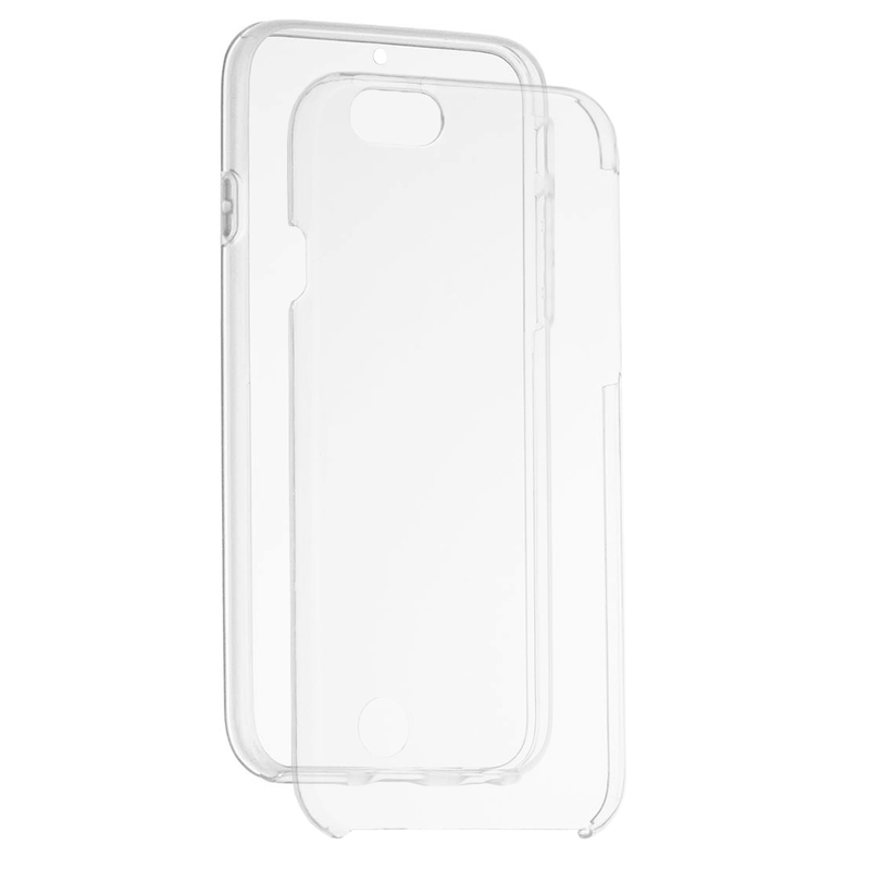Husa Apple iPhone 6, 6S FullCover 360 - Transparent