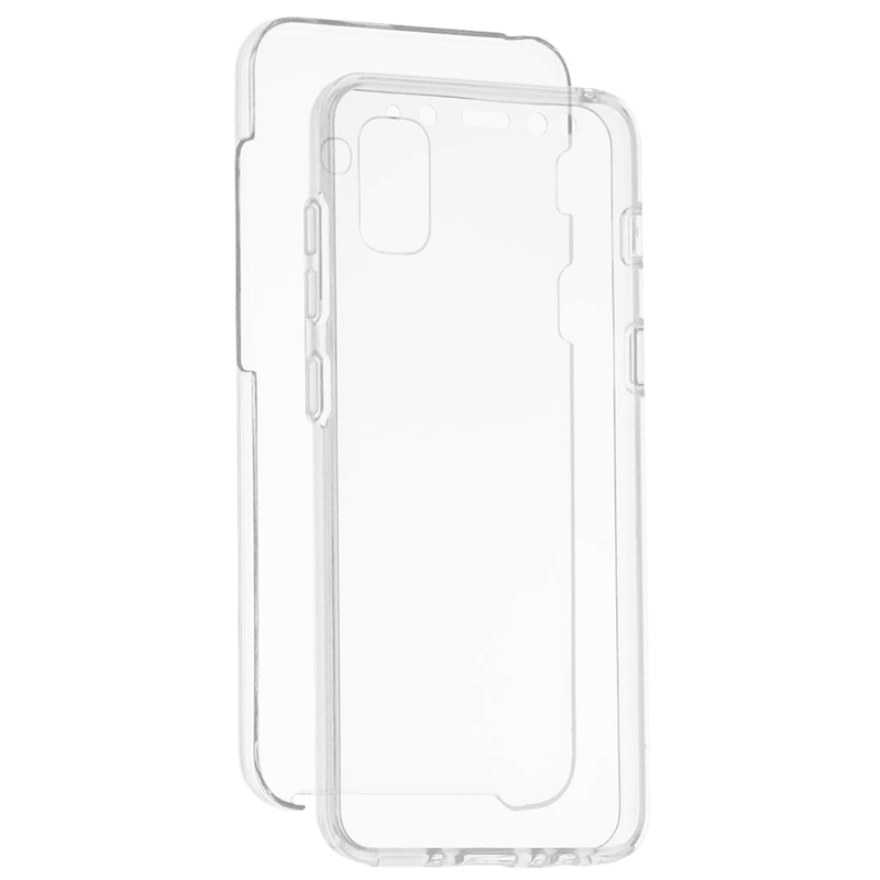 Husa Samsung Galaxy A8 2018 A530 FullCover 360 - Transparent