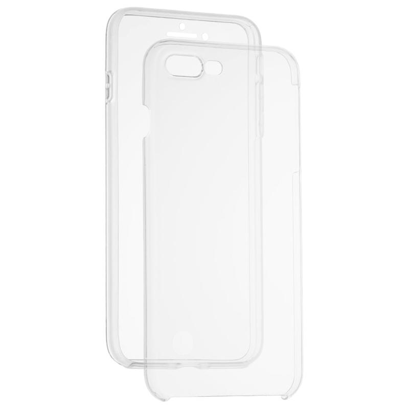 Husa Apple iPhone 8 Plus FullCover 360 - Transparent