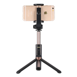 Suport - Tripod Selfie Remax P9 Bluetooth - Negru