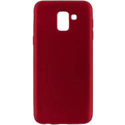 Husa Samsung Galaxy J6 2018 TPU Flash Mat - Rosu