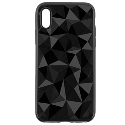 Husa Apple iPhone X, iPhone 10 Silicon TPU Prism - Negru