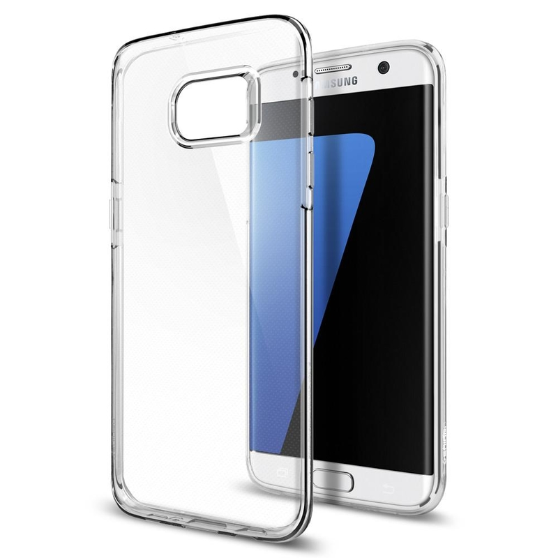Carcasa Samsung Galaxy S7 Edge Spigen Liquid Crystal - Clear