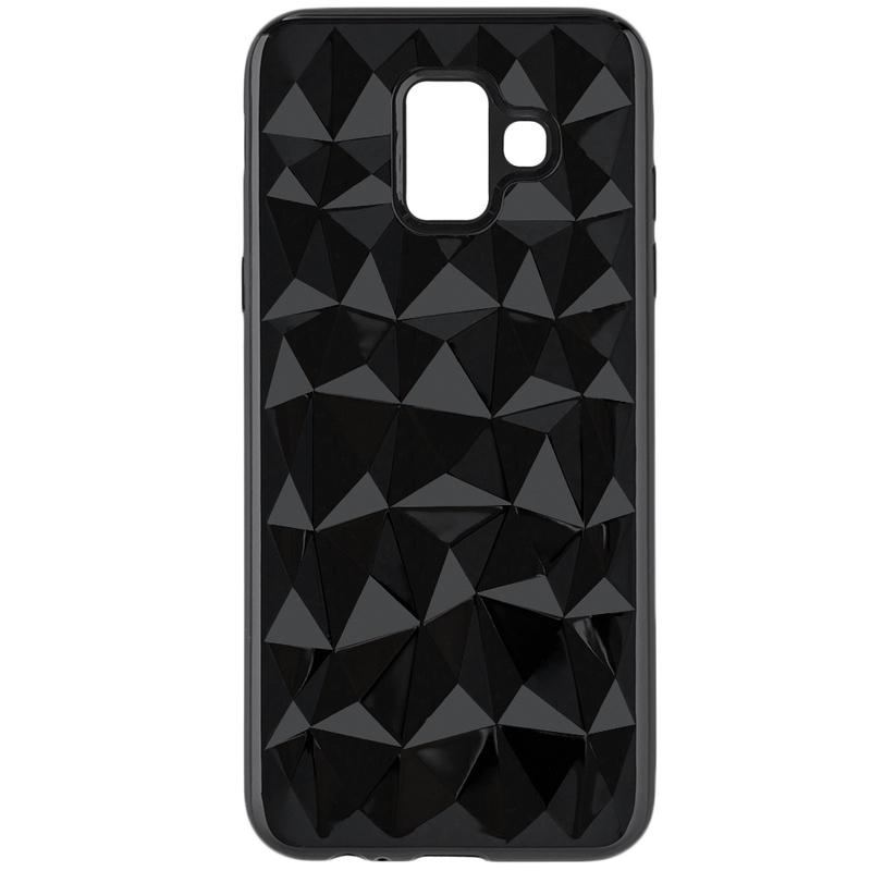 Husa Samsung Galaxy A6 2018 Silicon TPU Prism - Negru