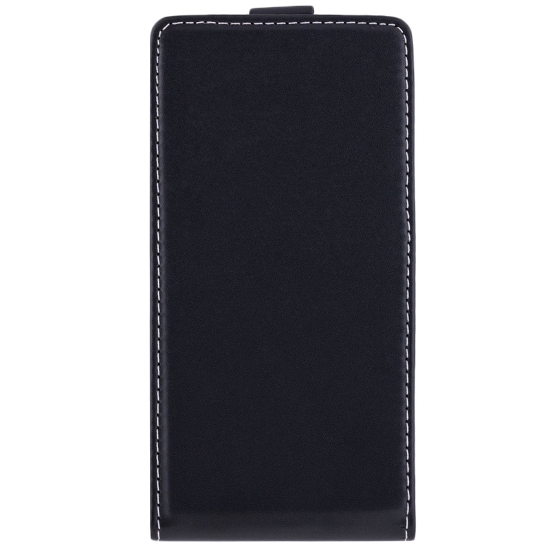 Husa Samsung Galaxy J4 2018 Toc Flip Fresh Negru