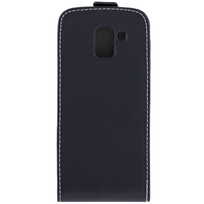 Husa Samsung Galaxy J6 2018 Toc Flip Fresh Negru
