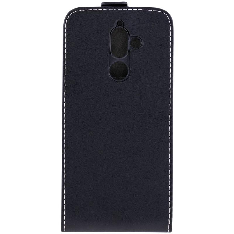 Husa Nokia 7 Plus Toc Flip Fresh Negru