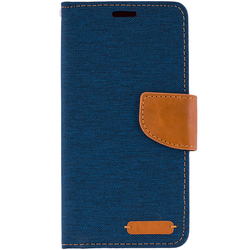 Husa Samsung Galaxy J4 2018  Book Canvas Bleu