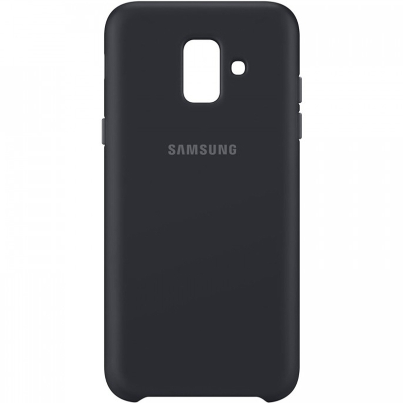 Husa Originala Samsung Galaxy A6 2018 Dual Layer Cover - Black