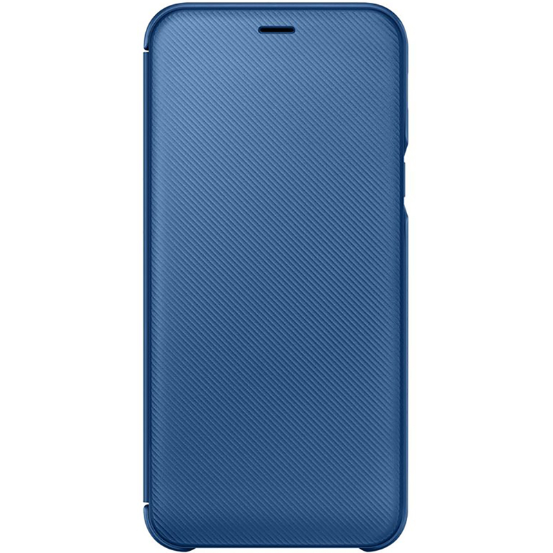 Husa Originala Samsung Galaxy A6 2018 Flip Wallet Blue