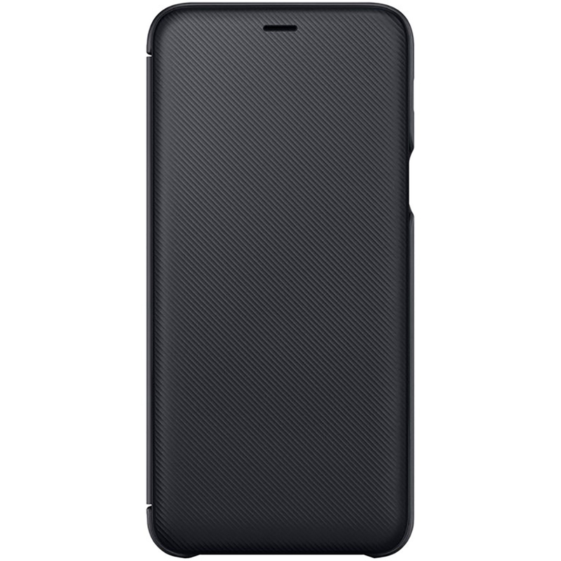 Husa Originala Samsung Galaxy A6 Plus 2018 Flip Wallet Black