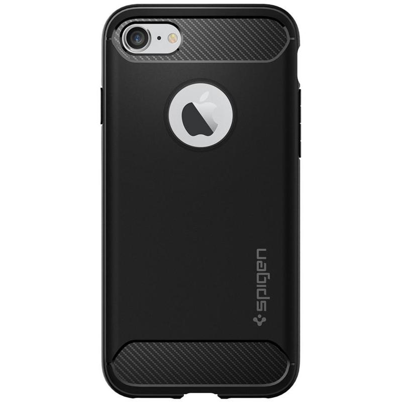 Bumper Spigen iPhone 8 Rugged Armor - Black