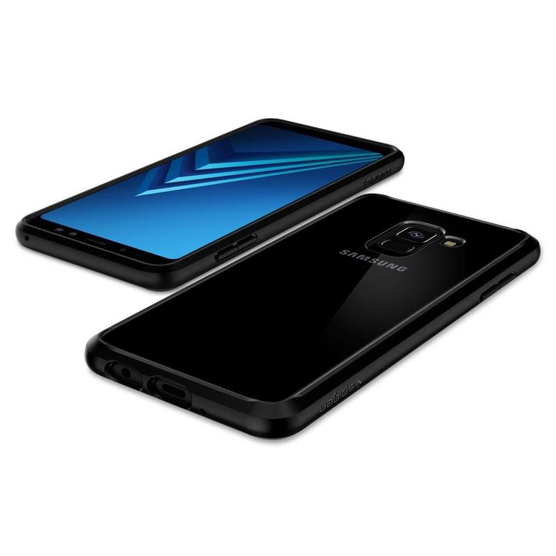 Bumper Spigen Samsung Galaxy A8 2018 A530 Ultra Hybrid - Matte Black
