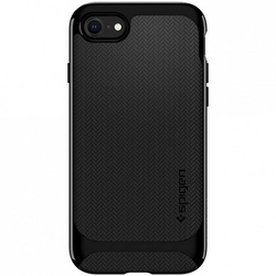 Bumper Spigen Apple iPhone 7 Neo Hybrid HerringBone - Shiny Black
