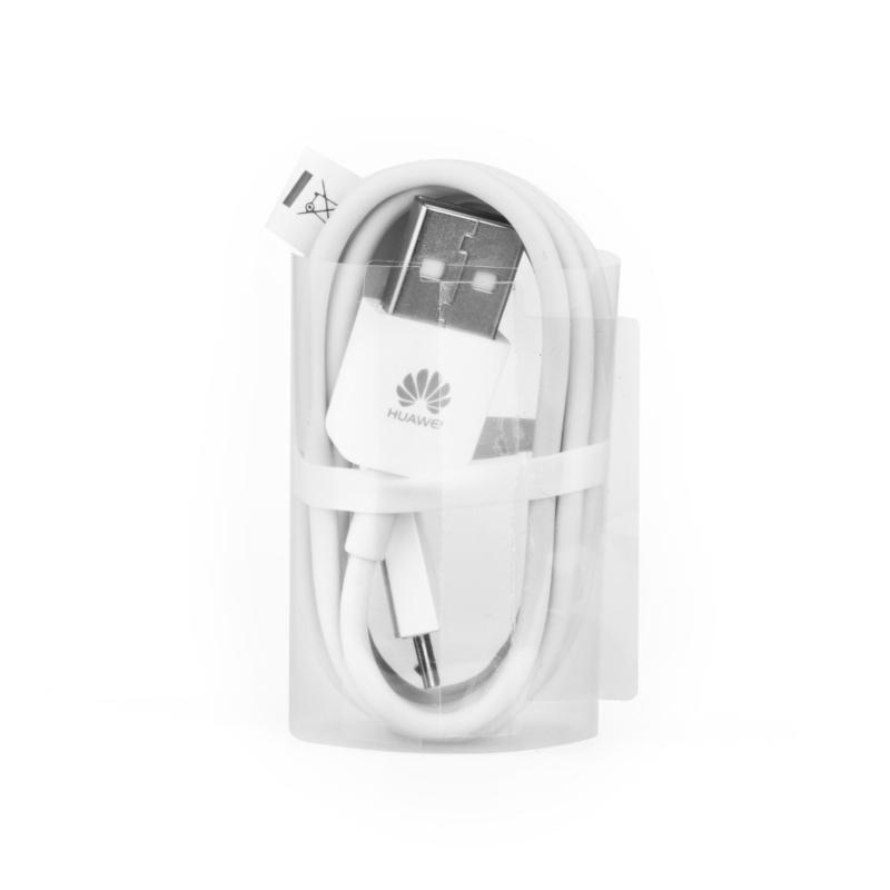 Cablu de date Original Huawei C02450768A Micro-USB Alb Bulk
