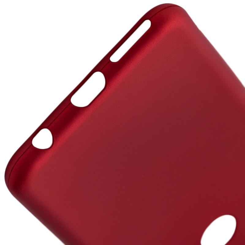 Husa Huawei Y7 Prime 2018 TPU Flash Mat - Rosu