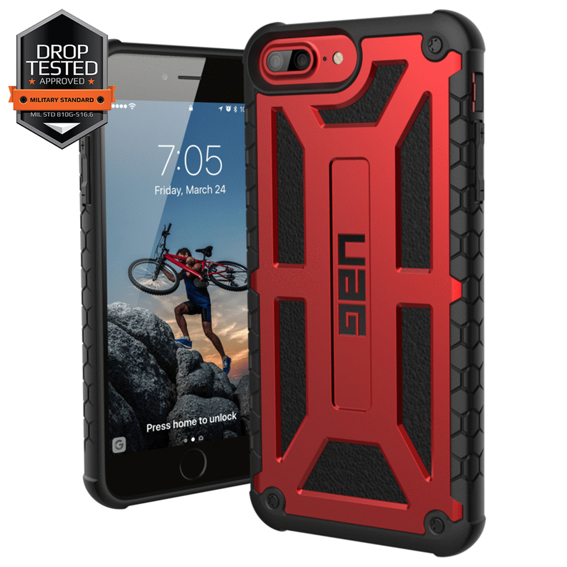 Husa iPhone 8 UAG Monarch - Crimson