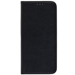 Husa Smart Book Samsung Galaxy A6 Plus 2018 Flip Negru