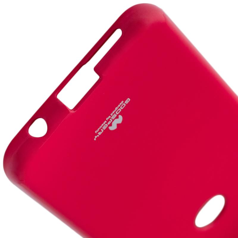 Husa Huawei P20 Lite Goospery Jelly TPU Roz