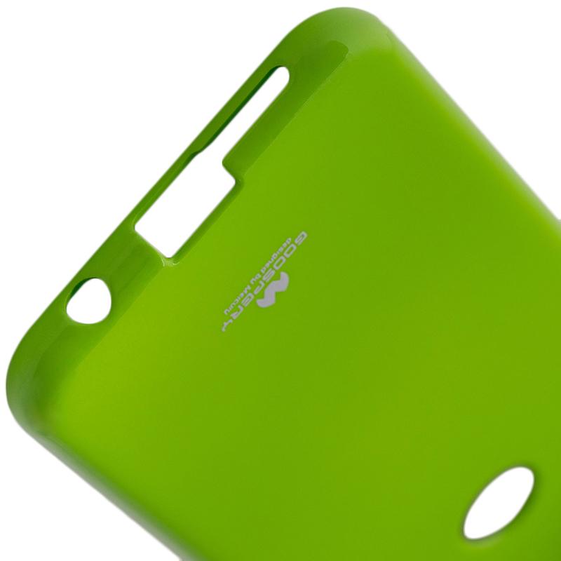 Husa Huawei P20 Lite Goospery Jelly TPU Verde
