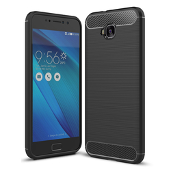 Husa Asus Zenfone 4 Selfie ZD553KL TPU Carbon Negru