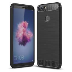 Husa Huawei P Smart TPU Carbon Negru