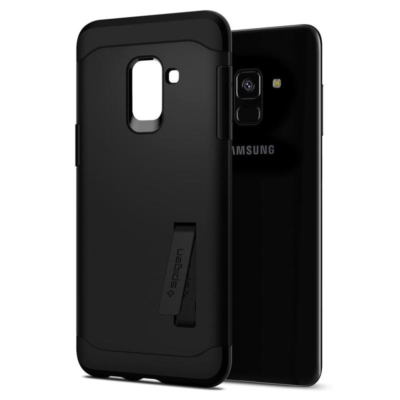 Bumper Spigen Samsung Galaxy A8 2018 A530 Slim Armor - Black