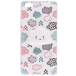 Husa Squishy Huawei P8 Lite - Cloud
