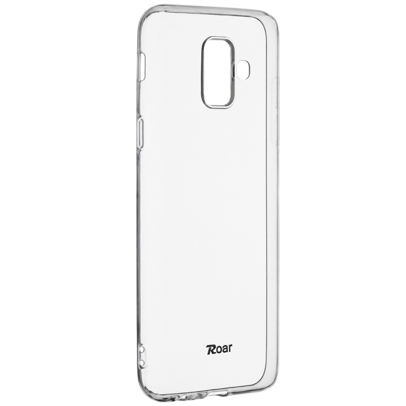 Husa Samsung Galaxy A6 2018 Roar Colorful Jelly Case Transparent