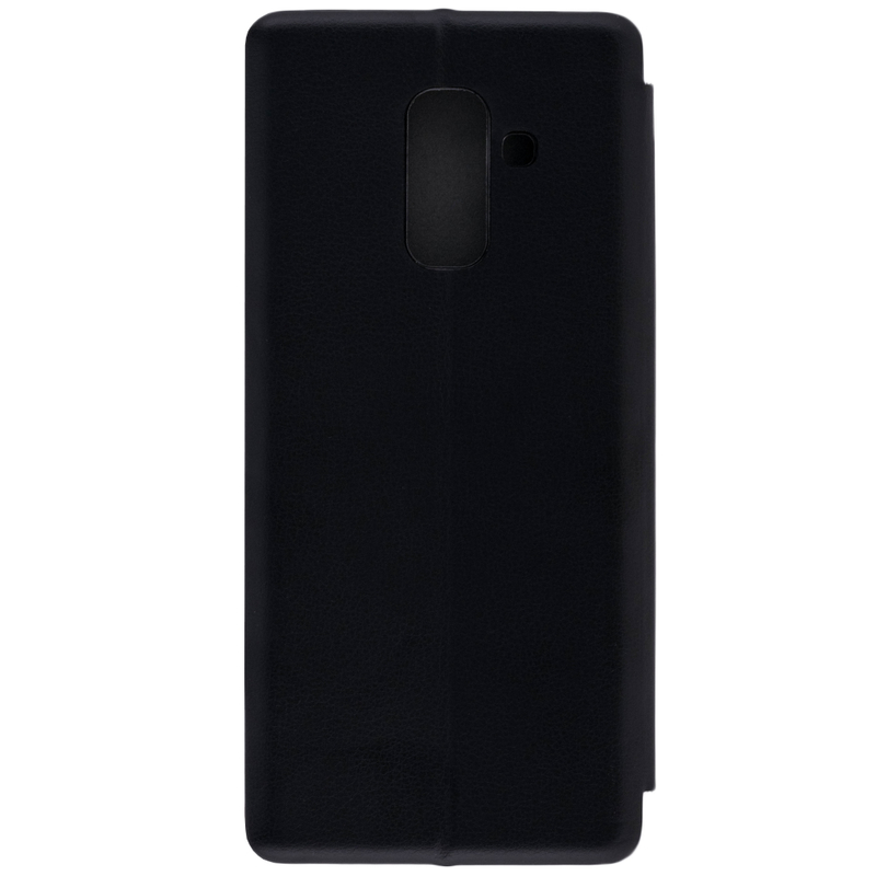 Husa Samsung Galaxy A6 Plus 2018 Flip Magnet Book Type - Black