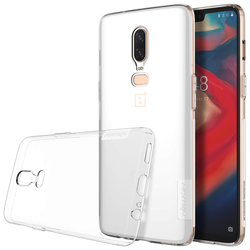 Husa OnePlus 6 Nillkin Nature UltraSlim Transparent