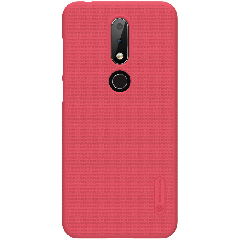 Husa Nokia X6 2018 Nillkin Frosted Red