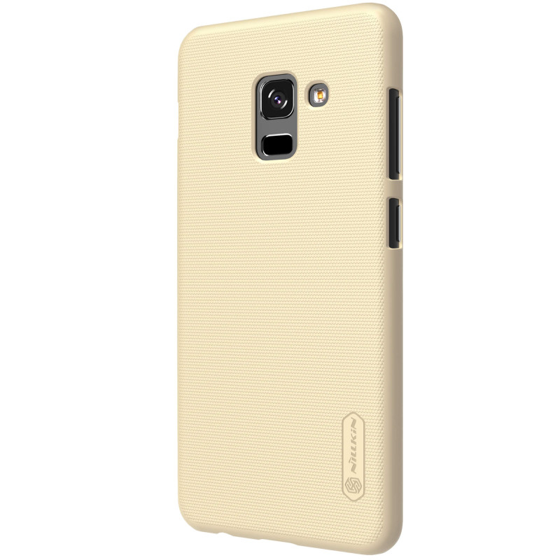 Husa Samsung Galaxy A8 2018 A530 Nillkin Frosted Gold