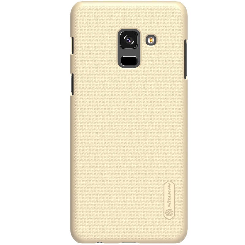 Husa Samsung Galaxy A8 2018 A530 Nillkin Frosted Gold