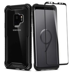 Husa Spigen Samsung Galaxy S9 Hybrid 360 - Black