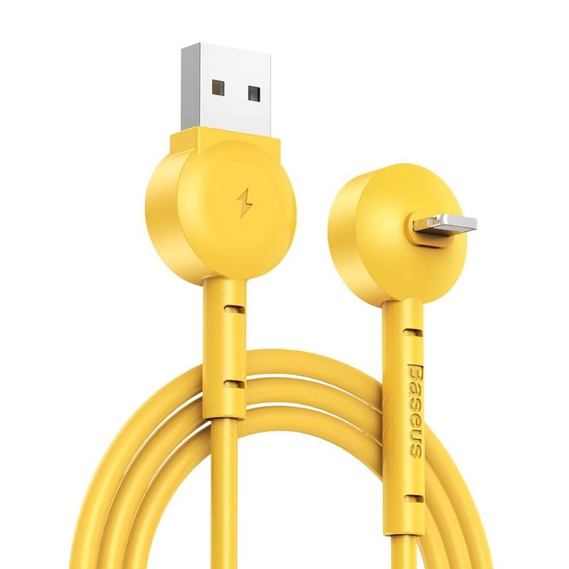 Cablu de date Lightning Baseus Maruko - Galben
