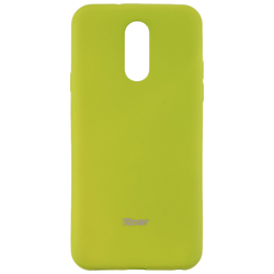 Husa LG Q7 Roar Colorful Jelly Case - Verde Mat