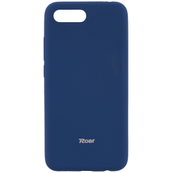 Husa Huawei Honor 10 Roar Colorful Jelly Case - Albastru Mat