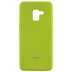 Husa Samsung Galaxy A8 2018 A530 Roar Colorful Jelly Case - Verde Mat