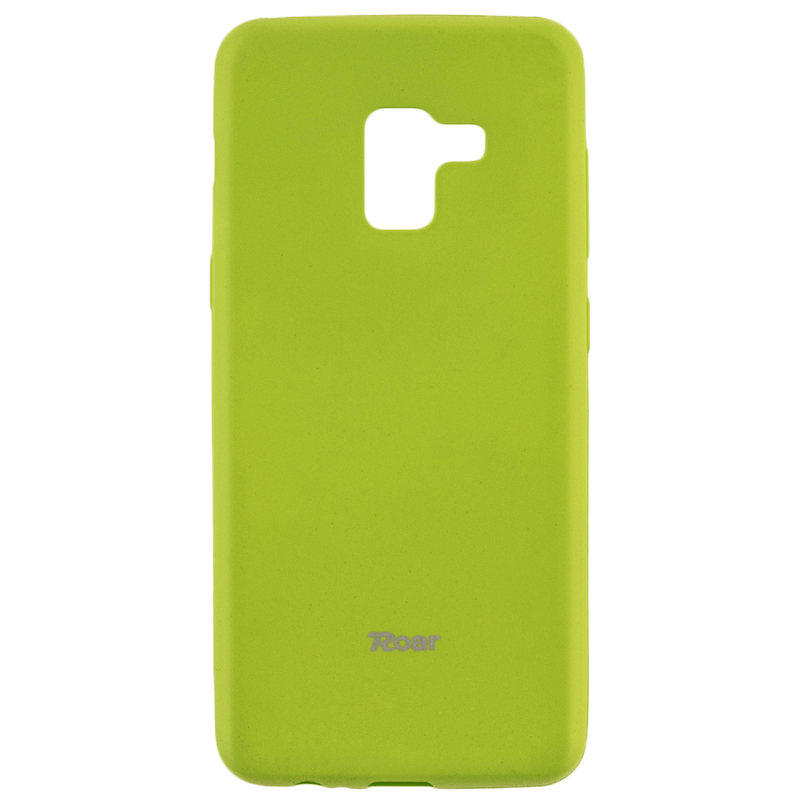 Husa Samsung Galaxy A8 2018 A530 Roar Colorful Jelly Case - Verde Mat
