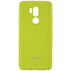 Husa LG G7 ThinQ Roar Colorful Jelly Case - Verde Mat