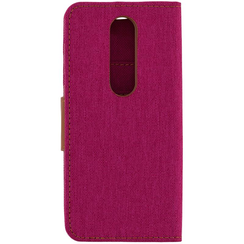Husa Nokia X6 2018 Canvas Book Roz