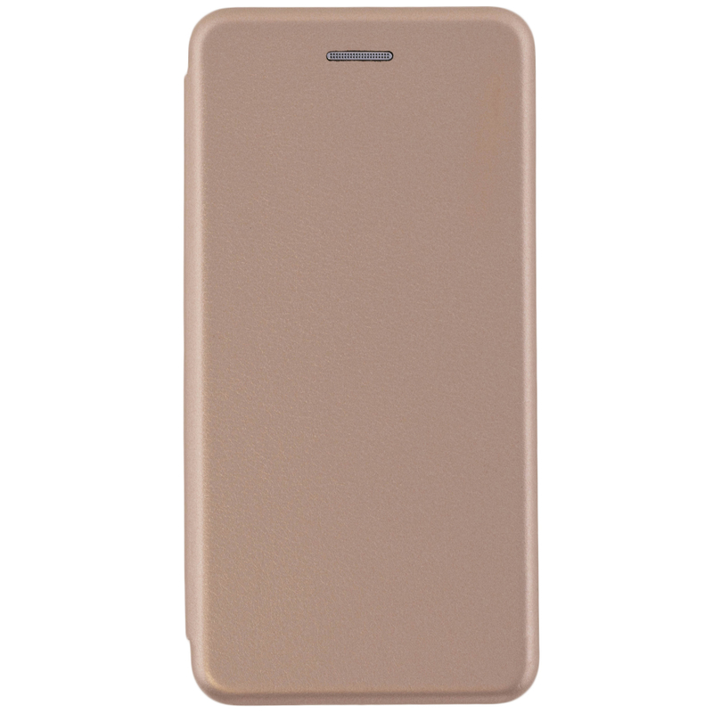 Husa Nokia X6 2018 Flip Magnet Book Type - Gold