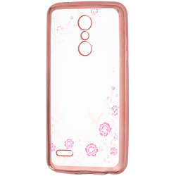 Husa LG K10 2018 Diamond Cover - Rose Gold