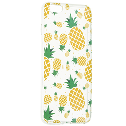 Husa iPhone 6 Plus / 6s Plus Silicon Summer - Pineapple