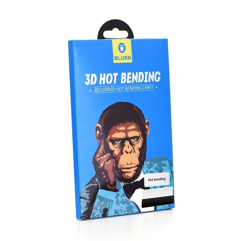Sticla Securizata 5D Mr. Monkey King Kong iPhone 7 - Alb