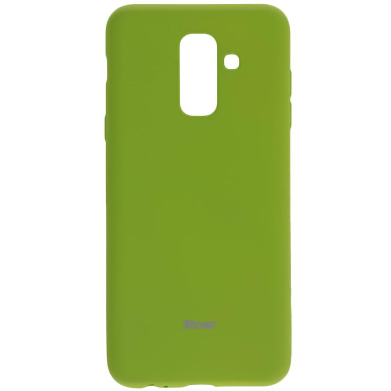 Husa Samsung Galaxy A6 Plus 2018 Roar Colorful Jelly Case Verde Mat